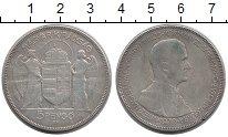 Изображение Монеты Венгрия 5 пенго 1930 Серебро VF-