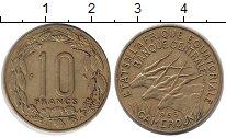 Изображение Монеты Камерун 10 франков 1965 Латунь XF
