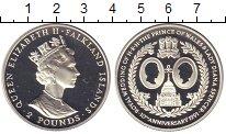 Изображение Монеты Фолклендские острова 2 фунта 1991 Серебро Proof