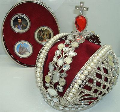 Изображение Подарочные монеты Фиджи Александр II 2012 Серебро Proof Набор состоит из тре
