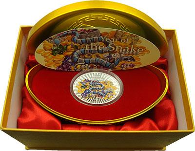 Изображение Подарочные монеты Ниуэ 2 доллара 2013 Серебро Proof Монета номиналом 2 д