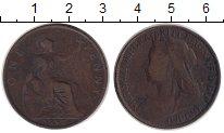 Изображение Монеты Великобритания 1 пенни 1896 Медь XF