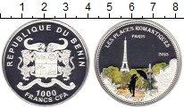 Изображение Монеты Бенин 1.000 франков 2013 Серебро Proof Цветная  эмаль.  Ром