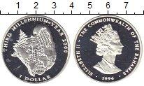Изображение Монеты Багамские острова 1 доллар 1996 Серебро Proof
