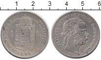 Изображение Монеты Венгрия 1 форинт 1877 Серебро XF
