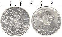 Изображение Монеты Италия 500 лир 1992 Серебро UNC- 500 лет со дня смерт