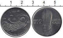 Изображение Монеты Ватикан 100 лир 1969 Железо XF Понтифик  Павел VI.