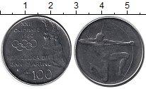 Изображение Монеты Сан-Марино 100 лир 1980 Медно-никель XF