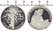 Изображение Монеты Ватикан 5 евро 2007 Серебро Proof Понтифик  Бенедикт X