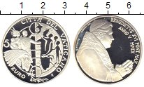 Изображение Монеты Ватикан 5 евро 2009 Серебро Proof