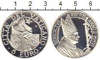 Изображение Монеты Ватикан 5 евро 2006 Серебро Proof