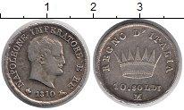 Изображение Монеты Италия 10 сольди 1810 Серебро VF-