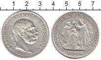Изображение Монеты Венгрия 5 крон 1907 Серебро XF