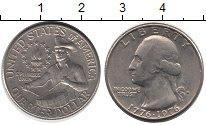 Изображение Мелочь США 1/4 доллара 1976 Медно-никель XF 200 - летие  независ