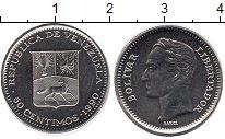 Изображение Монеты Венесуэла 50 сентимо 1990 Медно-никель UNC