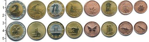 Изображение Наборы монет Албания Албания 2008 2008  UNC В наборе 8 монет ном