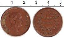 Изображение Монеты Саравак 1 цент 1937 Медь VF