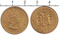 Изображение Монеты Ямайка 1/2 пенни 1964  XF