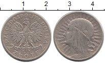 Изображение Монеты Польша 2 злотых 1934 Серебро XF