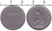 Изображение Мелочь Бельгия 1 франк 1923 Медно-никель XF
