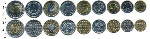 Изображение Наборы монет Польша Польша 1994-2002 0  UNC В наборе 9 монет ном
