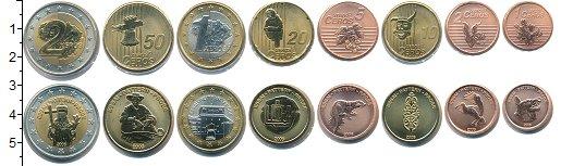 Изображение Наборы монет Литва Литва 2006 2006  UNC В наборе 8 монет. Пр
