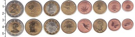 Изображение Наборы монет Мартиника Мартиника 2007 2007  UNC