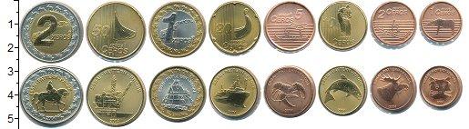 Изображение Наборы монет Норвегия Норвегия 2004 2004  UNC В наборе 8 монет ном
