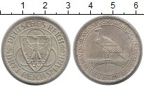 Изображение Монеты Веймарская республика 3 марки 1930 Серебро XF