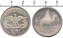 Изображение Монеты Йемен 1 риал 1969 Серебро Proof-
