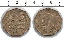 Изображение Монеты Кения 5 шиллингов 1973 Латунь UNC- Первый  Президент  М