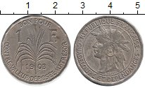 Изображение Монеты Гваделупа 1 франк 1903 Медно-никель XF