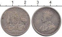 Изображение Монеты Австралия 1 шиллинг 1921 Серебро VF Георг V.