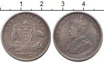 Изображение Монеты Австралия 1 шиллинг 1927 Серебро XF