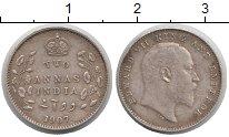 Изображение Монеты Индия 2 анны 1907 Серебро XF
