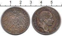 Изображение Монеты Саксония 2 марки 1914 Серебро XF Фридрих Август.