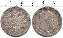 Изображение Монеты Вюртемберг 2 марки 1908 Серебро XF