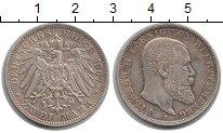Изображение Монеты Вюртемберг 2 марки 1907 Серебро XF