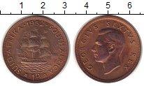 Изображение Монеты ЮАР 1 пенни 1952 Бронза Proof-