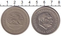 Изображение Монеты Сьерра-Леоне 1 леоне 1974 Медно-никель XF