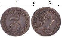 Изображение Монеты Великобритания 3 пенса 1762 Серебро XF Георг  III.