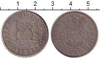 Изображение Монеты Испания 2 реала 1771 Серебро VF