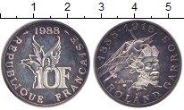 Изображение Монеты Франция 10 франков 1988 Серебро Proof-
