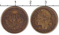 Изображение Монеты Камерун 50 сантим 1926 Латунь