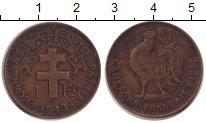 Изображение Монеты Камерун 1 франк 1943 Бронза