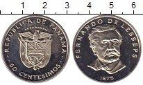 Изображение Монеты Панама 50 сентесимо 1975 Медно-никель Proof