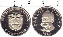 Изображение Монеты Панама 5 сентесим 1982 Медно-никель Proof