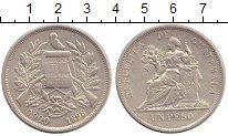 Изображение Монеты Гватемала 1 песо 1896 Серебро XF
