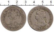 Изображение Монеты Сан-Томе и Принсипи 50 сентаво 1929 Медно-никель XF Протекторат  Португа