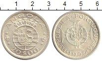 Изображение Монеты Ангола 20 эскудо 1955 Серебро UNC-